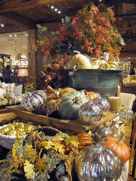 pottery barn thanksgiving display display ideas pinterest