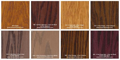 floor stain colors general finishes pro floor stain 174 color swatch chart for