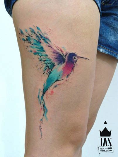 watercolor tattoo hummingbird watercolor hummingbird by rodrigo tas at tas in s 227 o