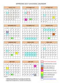 Netherlands Calendario 2018 District Calendar Vancouver School District