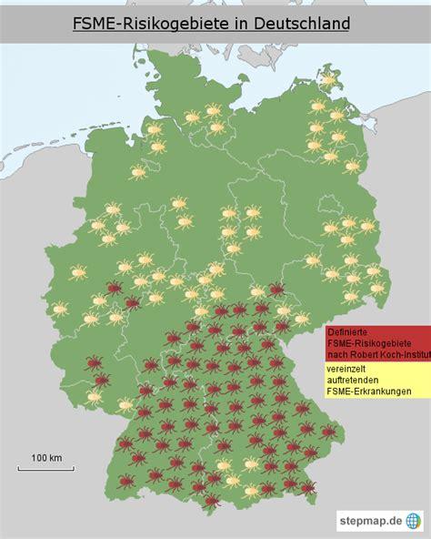 deutsches büro grüne karte formular zeckenkarte deutschland rob2000 landkarte f 252 r