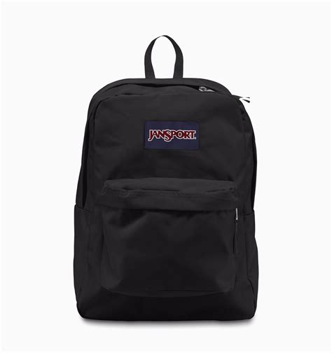 Black Backpack jansport superbreak backpack black rushfaster au