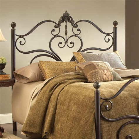 Antique Metal Headboard Newton Antique Metal Headboard With Frame Dcg Stores