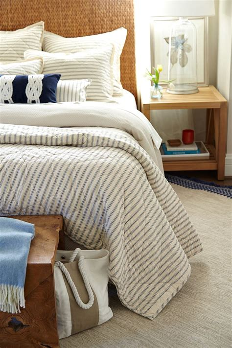 stripe bedding 25 best ideas about ticking stripe on pinterest striped bedding farm bedroom and