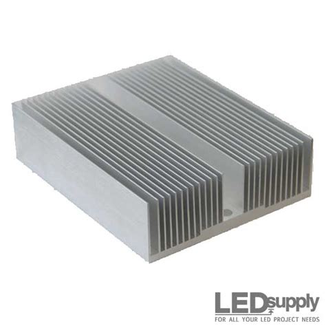 heat sink extrusion extrusion led heatsink 125mm x 100mm x 30mm