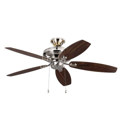 polished nickel ceiling fan monte carlo studio 54 in matte black ceiling fan 3su54bk