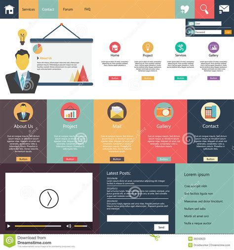 phlet template free 28 template phlet design 50 best flat design website