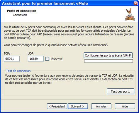emule port test emule project net site officiel d emule t 233 l 233 chargement