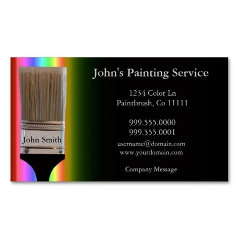 198 best images about painter business cards on pinterest