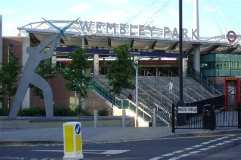 park inn wembley the view from our window wembley stadium at