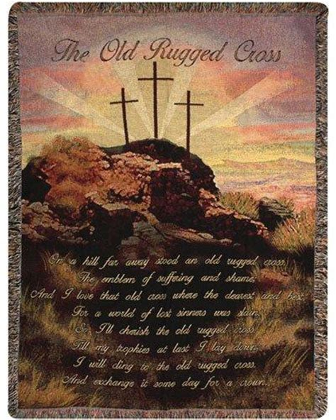 When Was The Rugged Cross Written by S Throws Carries A Large Selection Of Cotton