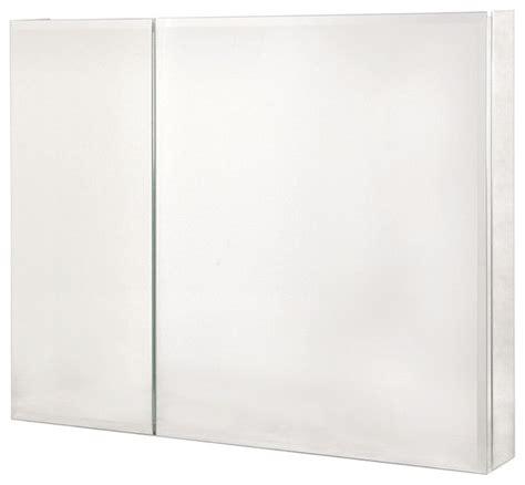 36 x 30 medicine cabinet pegasus sp4587 36 quot x 30 quot bi view beveled mirror medicine