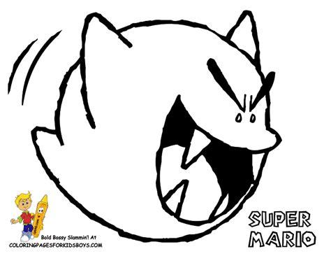 ghost boo coloring page mario bros coloring super mario bros free coloring