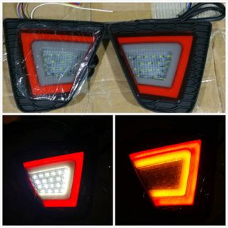 Mata Kucing Lu Led Reflektor Honda Jazz jual harga led bumper jazz 2016 wearetheparsons