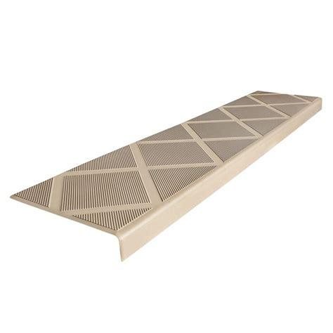 composigrip composite anti slip stair tread 48 in beige