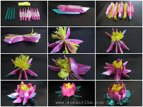 origami flowers step by step origami flower stock images royalty free images origami flowers step by step found here info