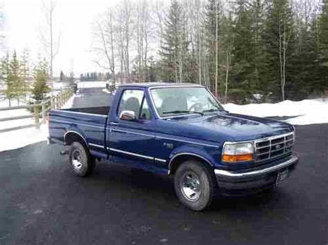how to work on cars 1996 ford f series electronic valve timing find used 1996 ford f150 xlt 2 wheel drive short box