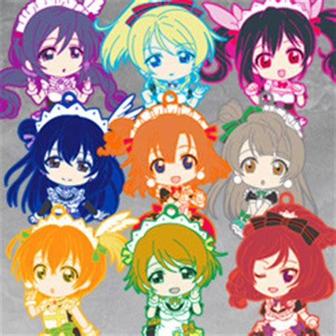 Nendoroid Plus Trading Rubber Straps Lovelive 05 lovelive smile company
