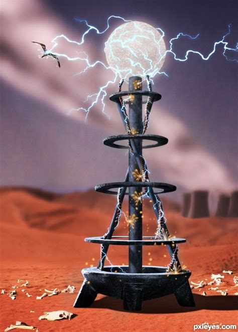 photoshop guide the making of tesla coil pxleyescom