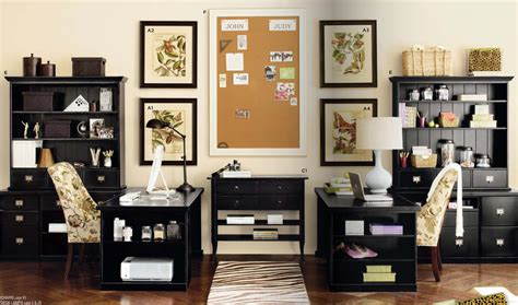 Interior Extraordinary Interior Design Ideas For Home Home Office With Two Desks