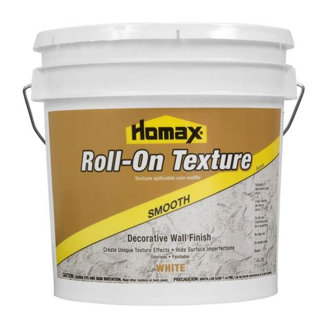 roll on paint texture shop homax 2 gallon white wall and ceiling texture at