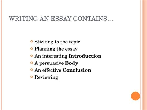 Make Essay Writing Interesting by How To Write A Essay