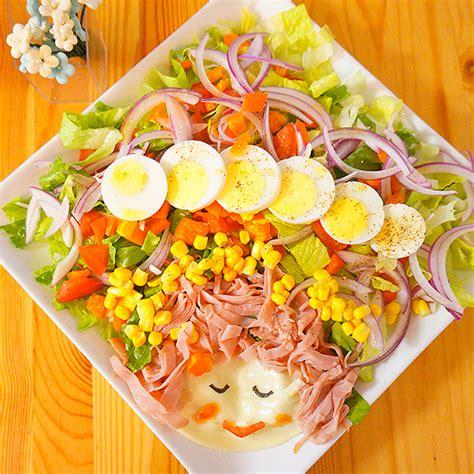 salad decoration at home fun salad decoration ideas working mom s edible art
