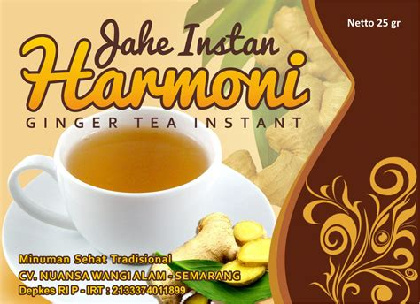 sribu label design desain label  minuman herbal kese
