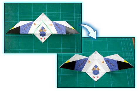 Nintendo Origami - make an origami arwing nintendo club