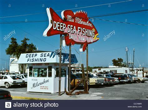 boat rs near tarpon springs fl old florida miss milwaukee deep sea fishing sign tarpon