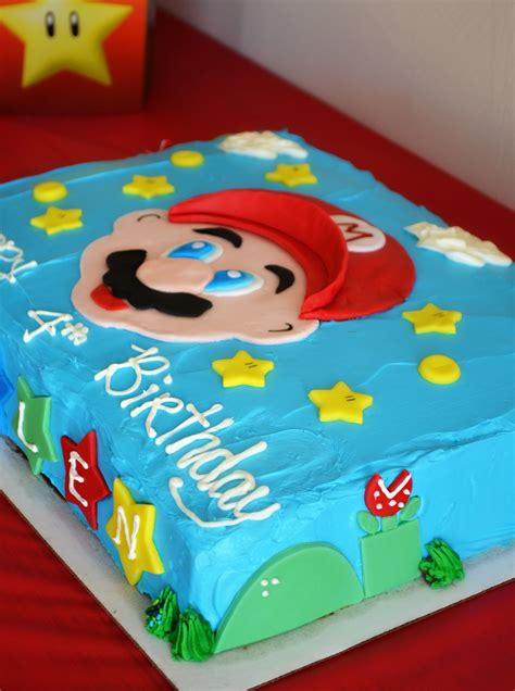 Ideas For Birthday Decorations At Home super mario brothers party amp happy birthday kallen