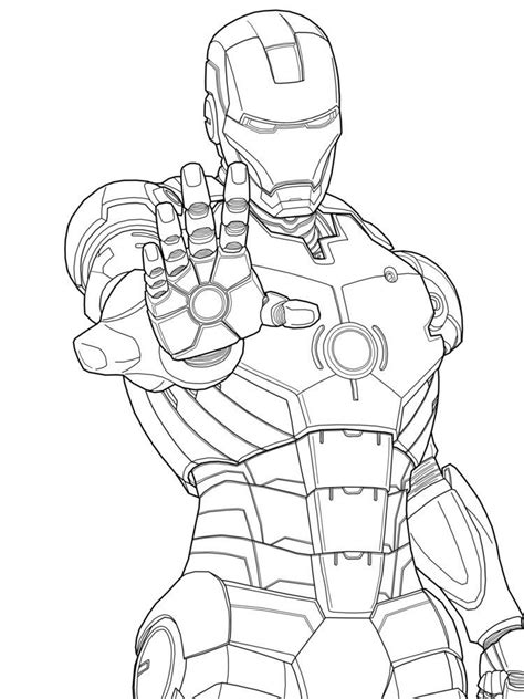Iron Coloring Pages Printable by Iron Marvel Iron Coloring Pages Free Printable