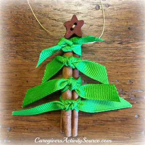 How To Make Ribbon Decorations For Tree by Cinnamon Stick Ornament