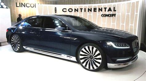 2020 lincoln continental 2020 lincoln continental review price changes redesign