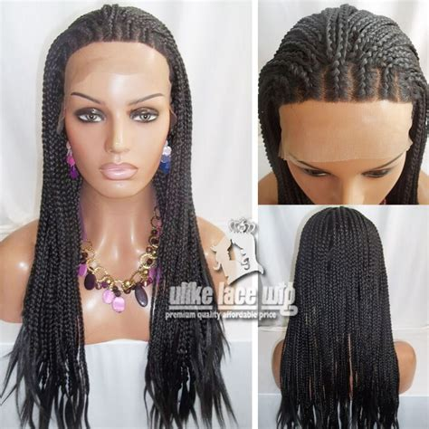 micro braided wigs new style full hand braided lace front wigs 1 micro jumbo