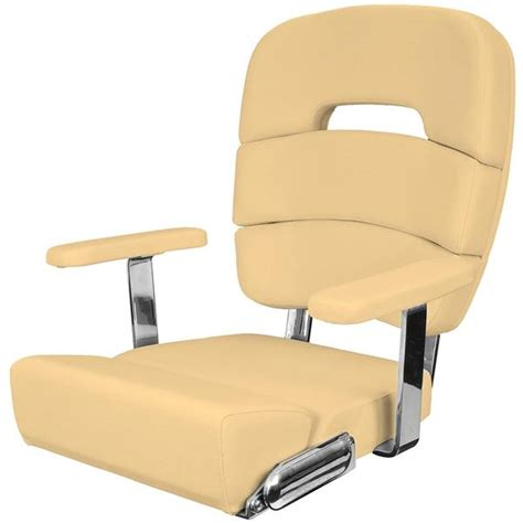 Marine Chairs by Taco Marine Coastal Helm Chair Deluxe Leaf West