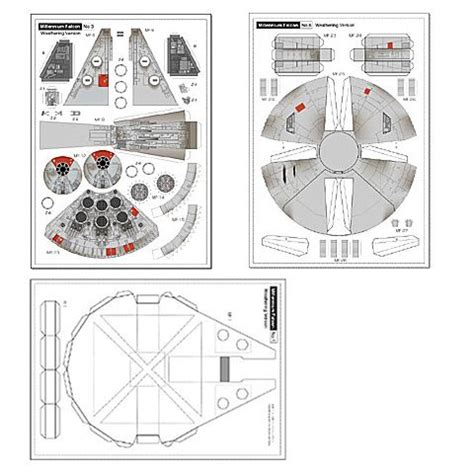 Wars Paper Crafts - wars millenium falcon papercraft diy jorymon