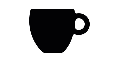coffee cup silhouette png black coffee cup free icons