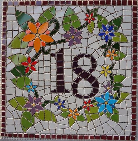 mosaic numbers pattern m 212 nica mosaicos n 218 mero de mosaico para cristina