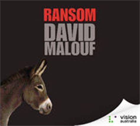 by david malouf ransom soundbooks the audiobook experts