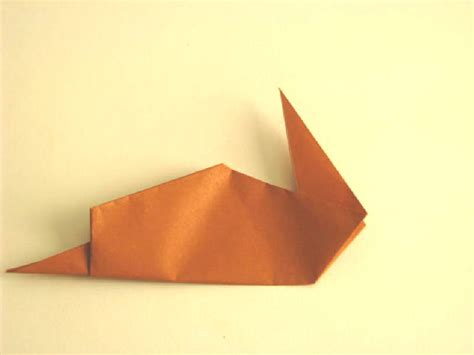 Origami Snail - origami snail folding how to make an easy