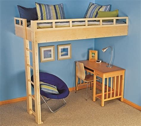 how to build a bunk bed build a loft bed