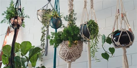 How To Macrame Plant Holder - macrame pot holder pattern rseapt org