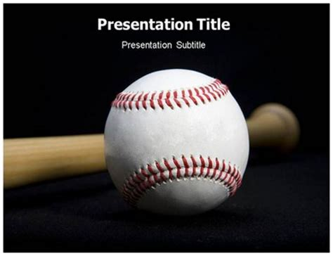 Download Baseball Powerpoint Template Presentation Online Free Baseball Powerpoint Template 2