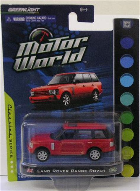 Greenlight Motor World Csite models greenlight diecast model car motor world range rover 1 64 scale 2010 new in