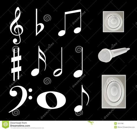 theme music royalty free note music royalty free stock image image 7211766