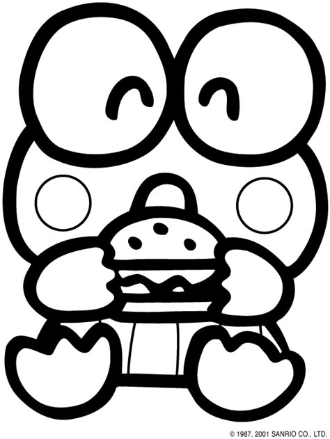 Keroppi Coloring Pages keroppi and coloring pages coloringpagesabc