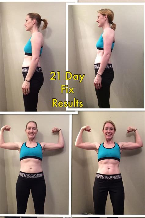 Results Transformation 21 Day Detox by 21 Day Fix Results Kuban Minton