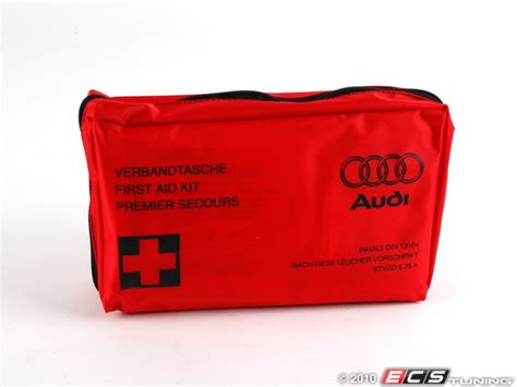 audi aid kit does anyone a spare aid kit or part number