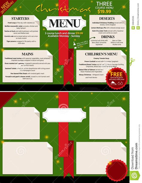 a merry menu 40 traditional recipes from around the world a global guide to feasting books restaurant menu design stock illustration